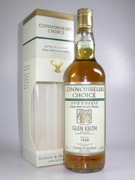 Glen Keith 1968/2007 Gordon & MacPhail Connoisseurs Ch. 46%vol. 0,7l