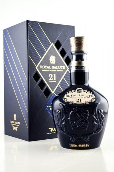 Chivas Regal Royal Salute 21 Jahre The Signature Blend 40%vol. 0,7l