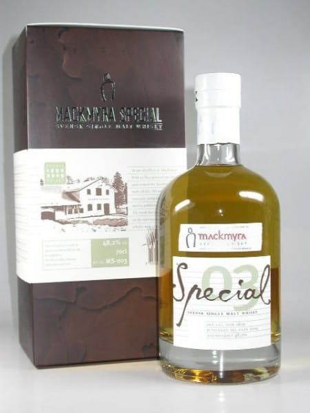 Mackmyra Special 03 Winter 09/10 Svensk Single Malt Whisky 48,2%vol. 0,7l