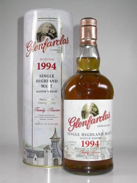 Glenfarclas 1994/2009 Family Reserve 46%vol. 0,7l