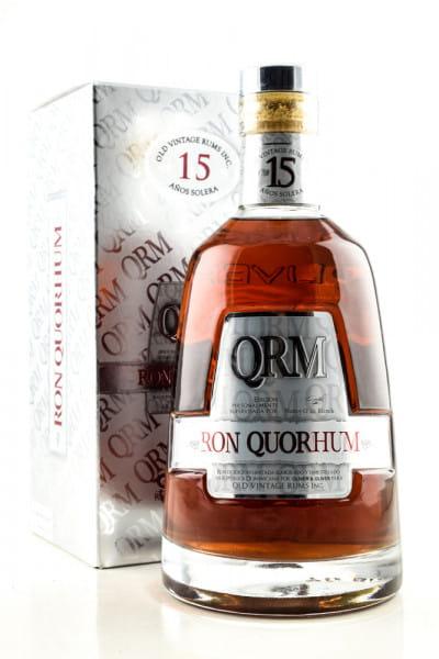Ron Quorhum 15 Jahre 40%vol. 0,7l