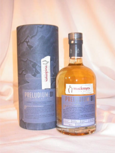 Mackmyra Preludium:01 Svensk Single Malt Whisky 55,6%vol. 0,5l