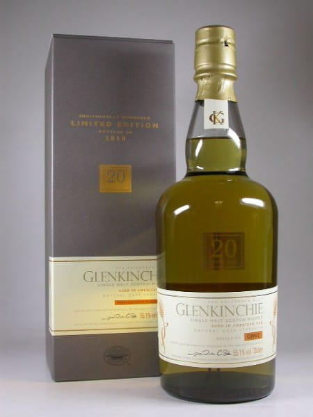 Glenkinchie 20 Jahre 1990/2010 55,1%vol. 0,7l