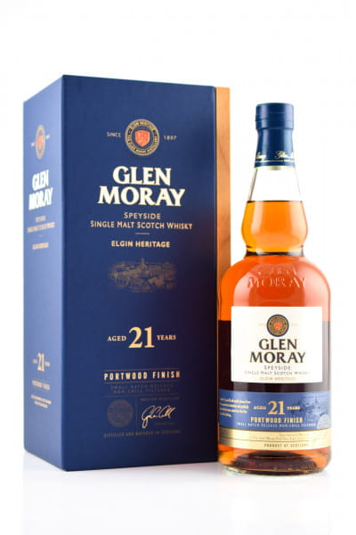 Glen Moray 21 Jahre Portwood Finish 46,3%vol. 0,7l