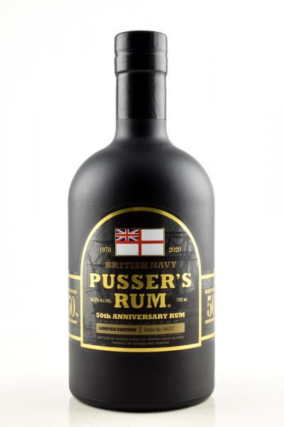 Pusser's 50th Anniversary Rum 54,5%vol. 0,7l