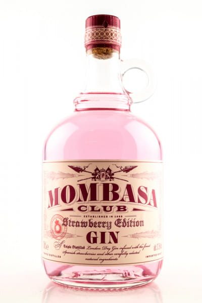 Mombasa Club Strawberry Edition Gin 37,5%vol. 0,7l