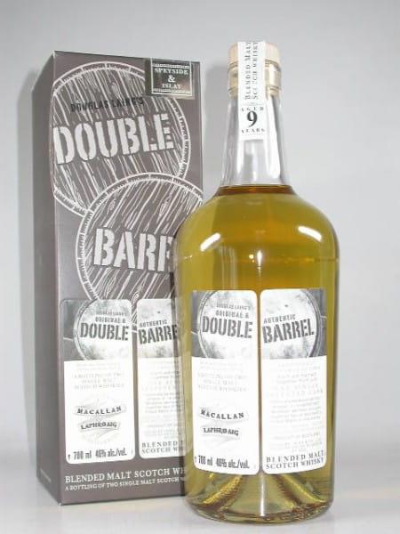 Double Barrel 9 Jahre - Macallan & Laphroaig Douglas Laing 46%vol. 0,7l