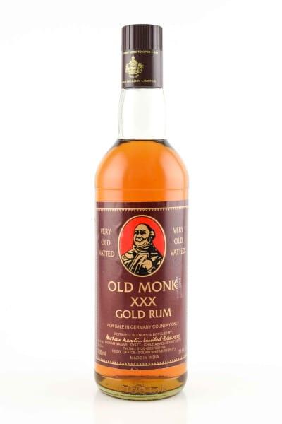 Old Monk XXX Gold Rum 37,5%vol. 0,7l