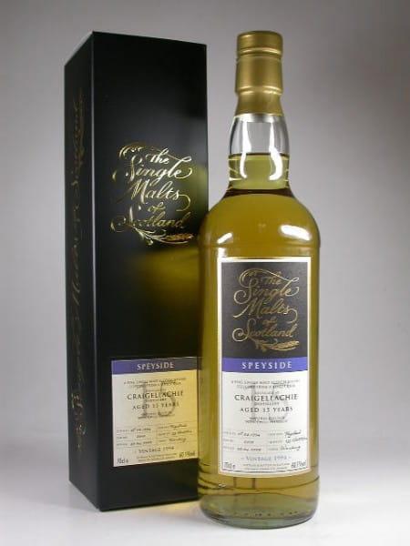 "Craigellachie 15 Jahre 1994/2009 ""The Single Malts of Scotland"" 60,1%vol. 0,7l"