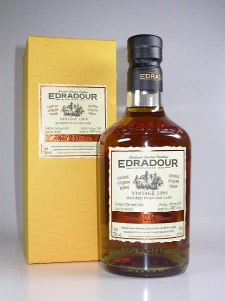 Edradour 24 Jahre 1984/2008 Chateau d'Yquem 48%vol. 0,7l