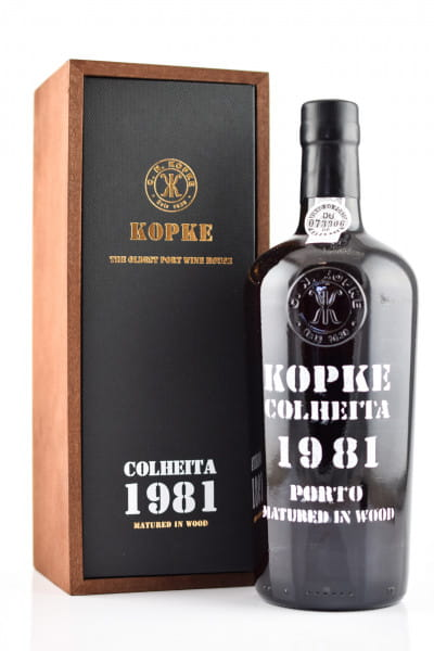 Kopke 1981 Colheita 20%vol. 0,75l