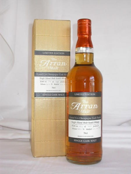 Arran Grand Cru Champagne Cask Finish 58,9%vol. 0,7l