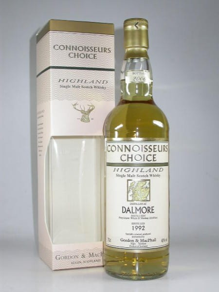 Dalmore 1992/2006 Gordon & MacPhail Connoisseurs Ch. 40%vol. 0,7l