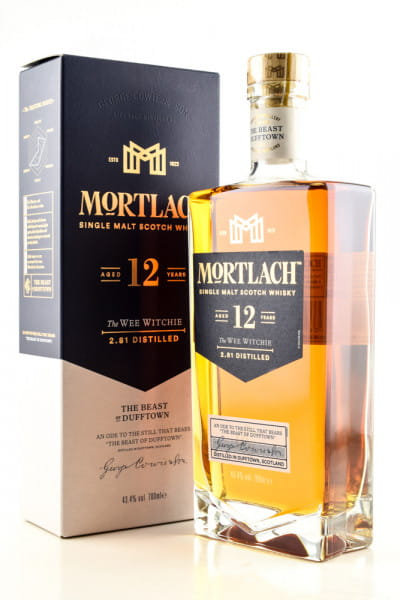 Mortlach 12 Jahre 43,4%vol. 0,7l