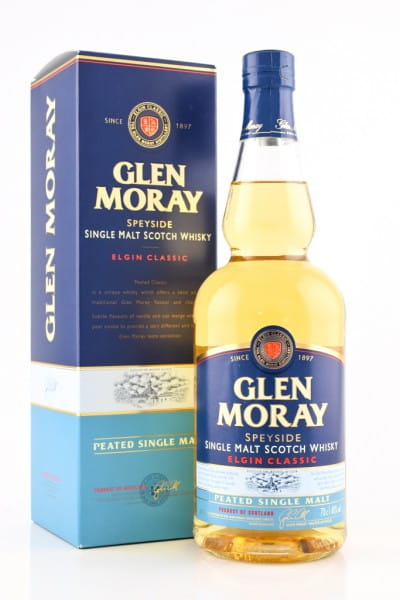 Glen Moray Peated 40%vol. 0,7l