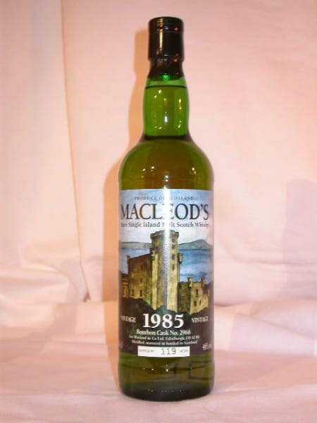 MacLeod's Vintage 1985 (Talisker) Single Cask #2966 46%vol. 0,7l