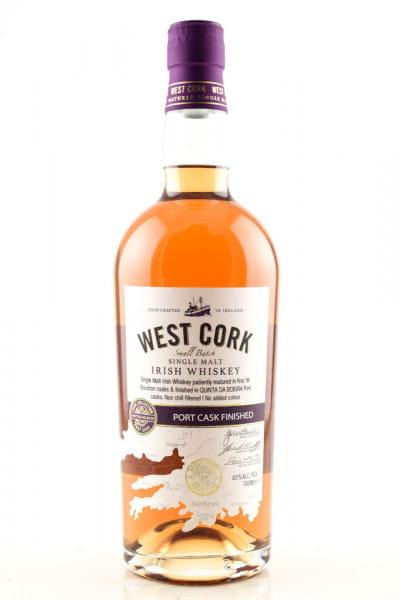 West Cork Port Cask Finished 43%vol. 0,7l