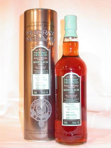 Mortlach 1993/2006 Bourbon/Port Murray McDavid 46%vol. 0,7l
