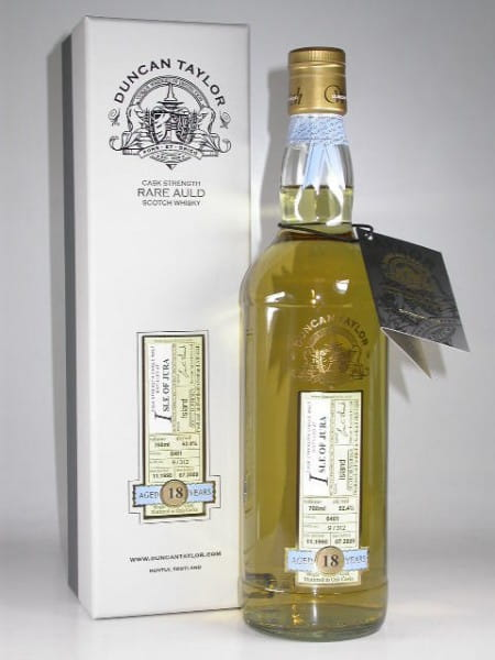 Isle of Jura 18 Jahre 1990/2009 Rare Auld Duncan Taylor 52,4%vol. 0,7l