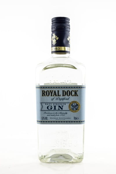 Hayman Royal Dock Navy Strength Gin 57%vol. 0,7l