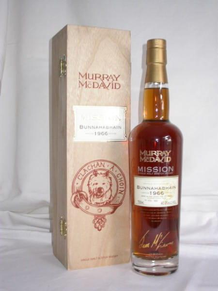 Bunnahabhain 1966/2004 Murray McDavid Mission C.S. 40,3%vol.0,7l