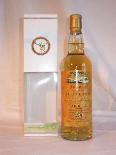 Ardbeg 94/04 Gordon & MacPhail Spirit of Scotland 54,2%vol. 0,7l