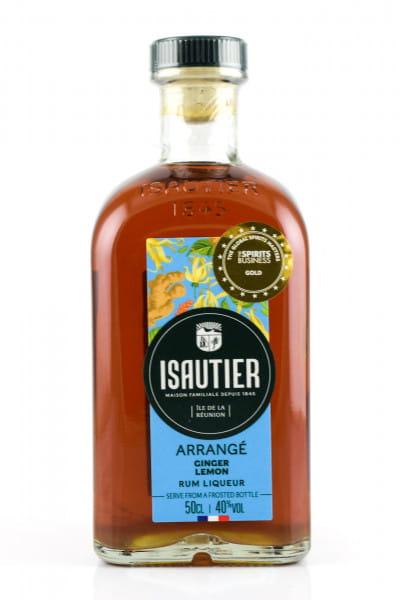 Isautier Arrangé Ginger Lemon 40%vol. 0,5l