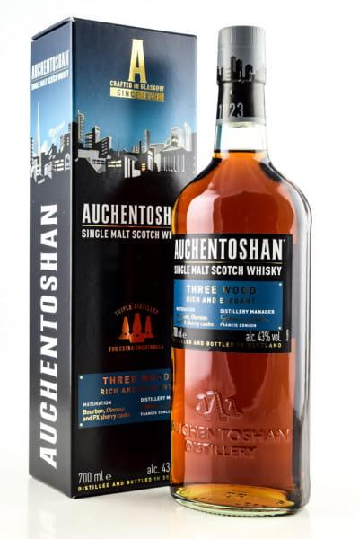 Auchentoshan Three Wood 43%vol. 0,7l