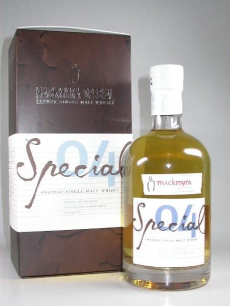 Mackmyra Special 04 Summer 2010 Svensk Single Malt Whisky 53%vol. 0,7l