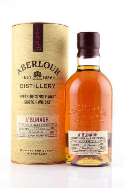 Aberlour a'bunadh Batch No. 70 61,2%vol. 0,7l