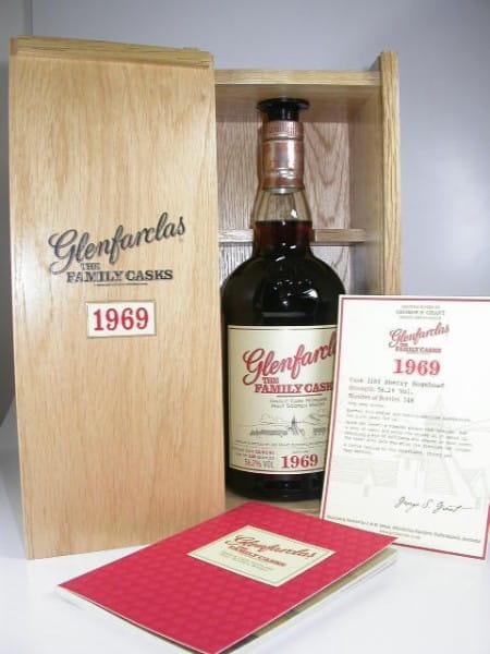 "Glenfarclas ""The Family Casks"" 1969/2007 Sherry Hogshead 56,2%vol. 0,7l"