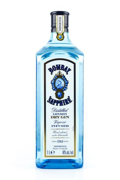 Bombay Sapphire Gin 40%vol. 1,0l