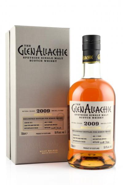GlenAllachie 11 Jahre 2009/2021 Ruby Port Pipe #7673 59,4%vol. 0,7l