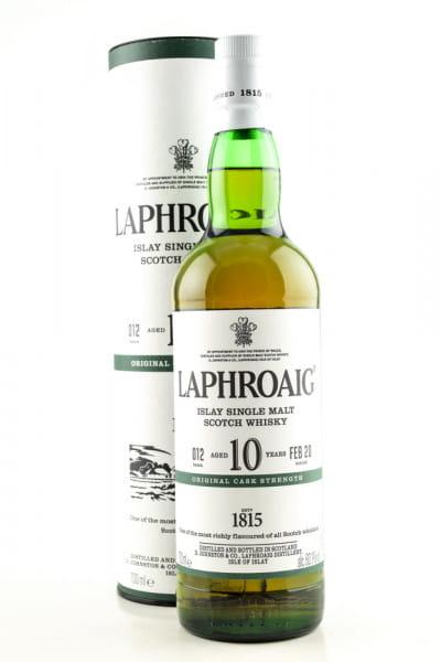 Laphroaig 10 Jahre Cask strength Batch 012 Feb 20 60,1%vol. 0,7l