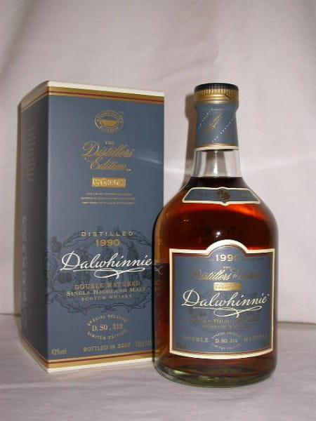 Dalwhinnie 1990/2007 Distillers Edition 43%vol. 0,7l