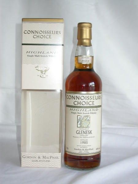Glenesk 1985/2003 Gordon & MacPhail Connoisseurs Choice 40%vol. 0,7l