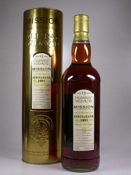 Springbank 1995/2008 Murray McDavid Gold Series 55,4%vol. 0,7l
