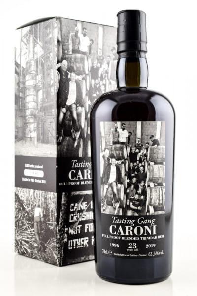 Tasting Gang Caroni 23 Jahre 1996/2019 63,5%vol. 0,7l