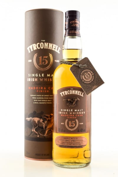 The Tyrconnell 15 Jahre Madeira Cask Finish 46%vol. 0,7l