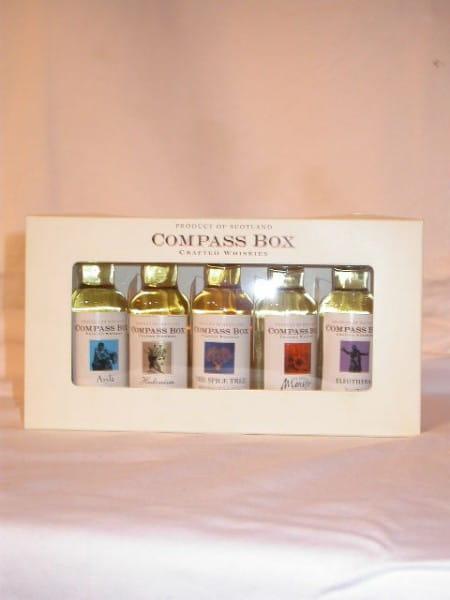 Compass Box Tasting-Set 5x 0,05l