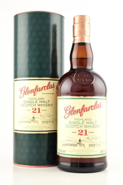 Glenfarclas 21 Jahre 43%vol. 0,7l
