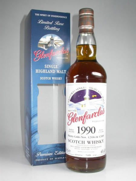 Glenfarclas Christmas 1990/2009 Cask #12184 & 12185 Oloroso Sherry Casks 46%vol. 0,7l