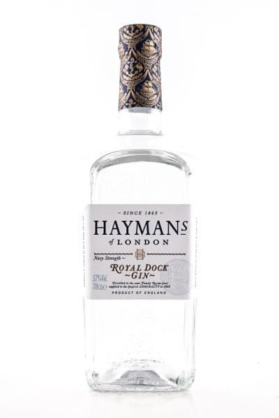 Hayman's Royal Dock Navy Strength Gin 57%vol. 0,7l