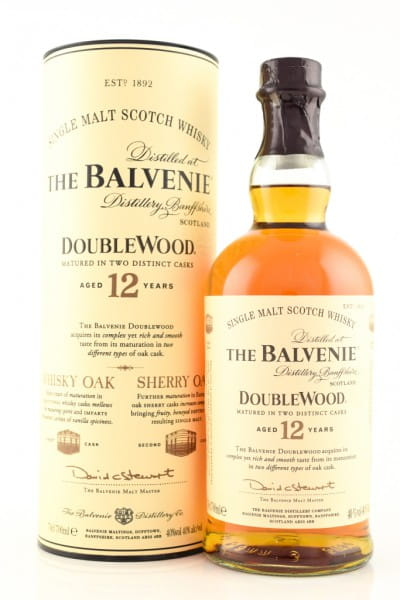 Balvenie 12 Jahre Double Wood 40%vol. 0,7l