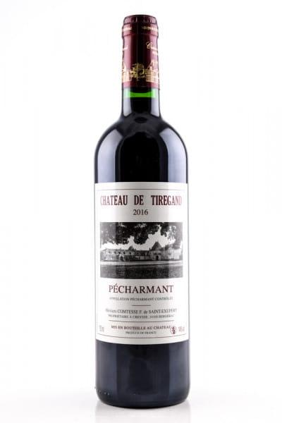 Pécharmant 2016 Bergerac Chateau de Tiregand 14%vol. 0,75l