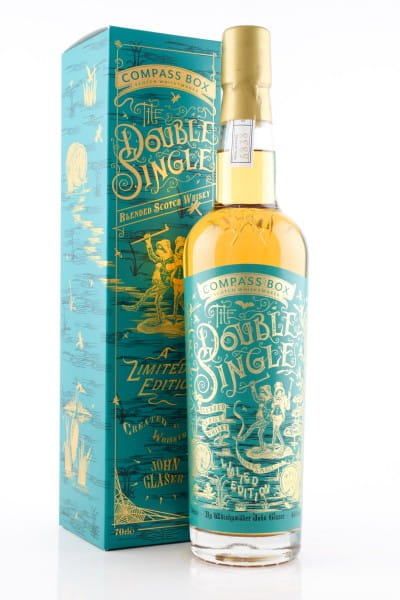 The Double Single Compass Box 46%vol. 0,7l
