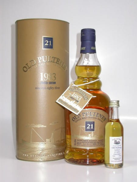 Old Pulteney 21 Jahre 1983/2005 46%vol. Sample 0,05l