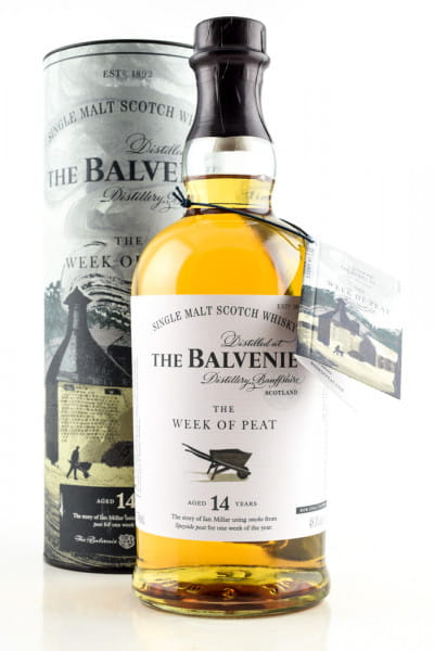 Balvenie 14 Jahre The Week of Peat 48,3%vol. 0,7l