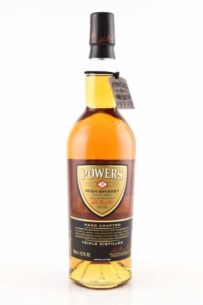 Powers Gold Label 43,2%vol. 0,7l