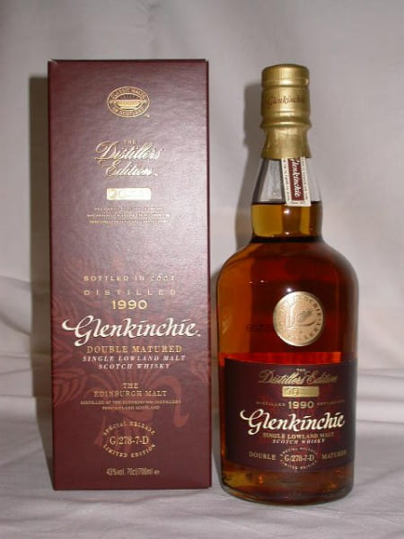 Glenkinchie 1990 Distillers Edition 43%vol. 0,7l